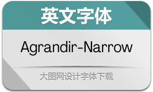 Agrandir-Narrow(英文字体)