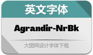 Agrandir-NarrowBlack(英文字体)