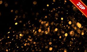 亮闪闪的光斑元素高光高清图片集V07
