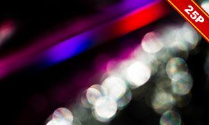 虚化光效光斑元素装饰高清图片集V01