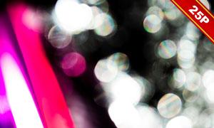 虚化光效光斑元素装饰高清图片集V02