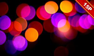 虚化光效光斑元素装饰高清图片集V03