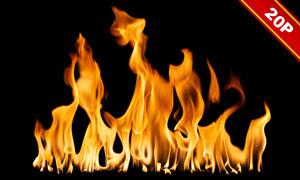 火苗与火焰等元素后期装饰高清图片
