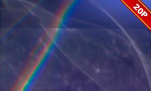 薄膜光晕主题后期合成适用高清图片