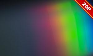 多彩梦幻棱镜折射光效后期高清图片
