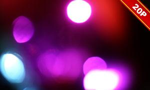 七彩創意漏光與光斑等高清圖片集V01