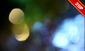 七彩創意漏光與光斑等高清圖片集V03
