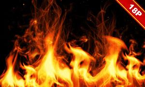 熊熊燃燒的火焰等后期裝飾高清圖片