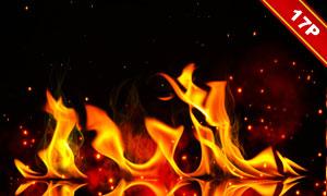 燭火與火焰等合成創意高清圖片素材