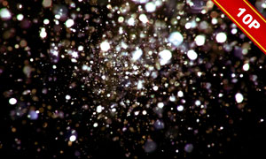 亮閃閃的夢幻光斑合成適用高清圖片