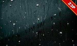 下雨情景與水珠等高光適用高清圖片