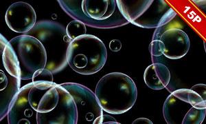 色彩斑斓泡泡图层叠加高清图片集V01