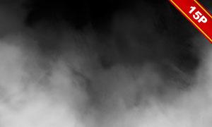白色雾气元素环境情景营造高清图片