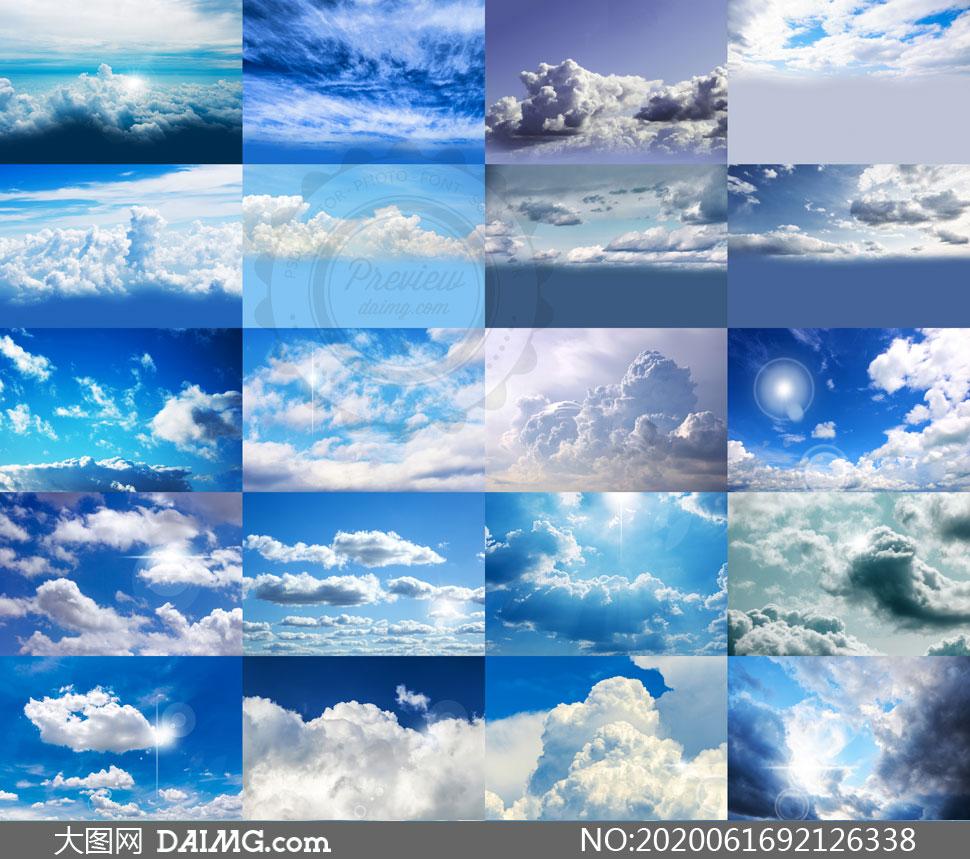 后期合成适用天空云彩高清图片V35