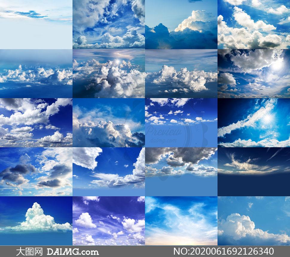 后期合成适用天空云彩高清图片V37
