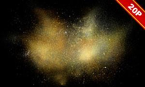 金粉与光斑等元素高光装饰高清图片