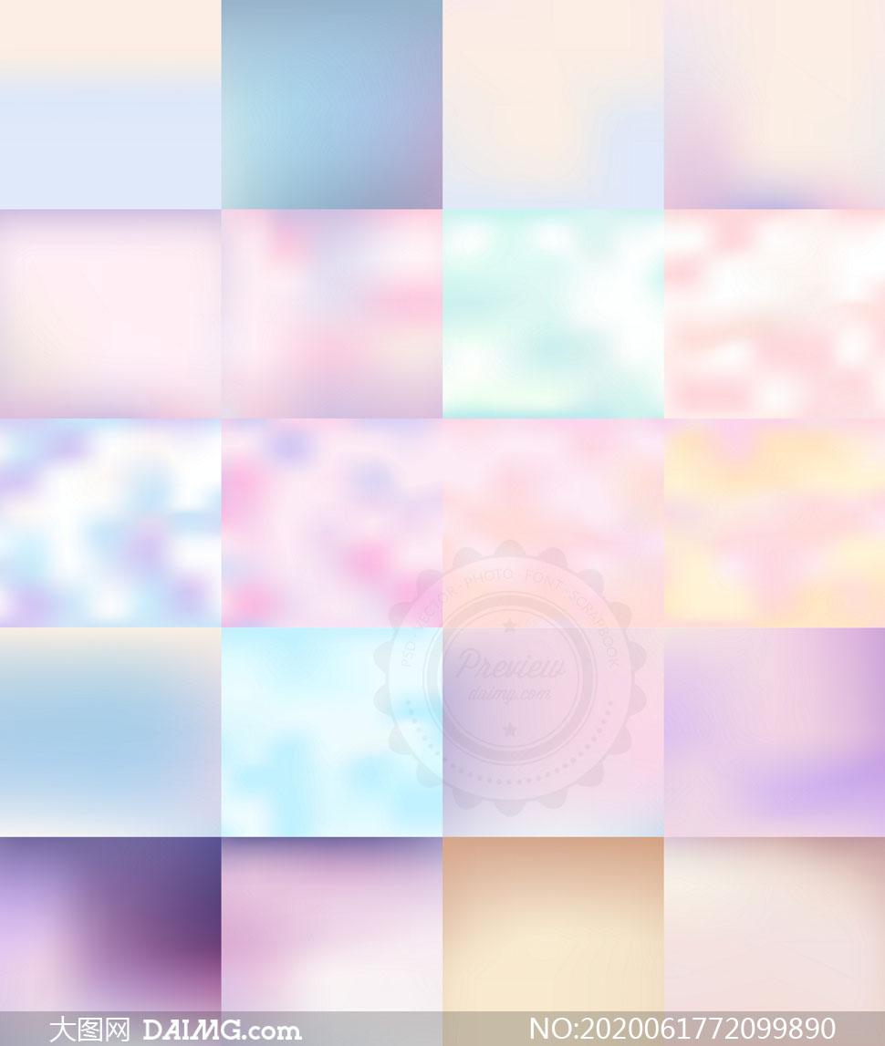 粉色与紫色等模糊创意高光图片素材