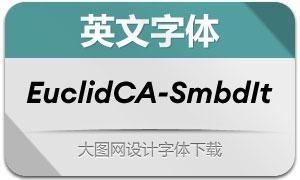 EuclidCircularA-SmbdIt(英文字体)