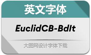 EuclidCircularB-BoldIt(英文字体)