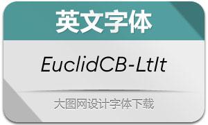 EuclidCircularB-LightIt(英文字体)