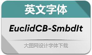 EuclidCircularB-SmbdIt(英文字体)