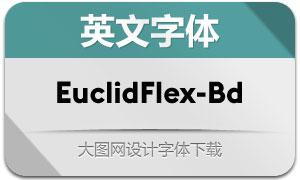 EuclidFlex-Bold(英文字体)