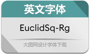 EuclidSquare-Regular(英文字体)