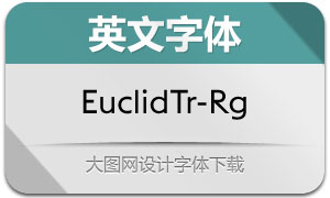 EuclidTriangle-Regular(英文字体)