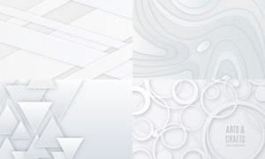 几何图形抽象背景创意矢量素材集V35