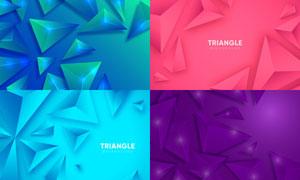 几何图形抽象背景创意矢量素材集V37
