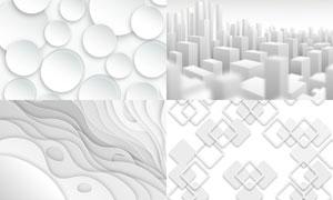 几何图形抽象背景创意矢量素材集V48