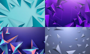 几何图形抽象背景创意矢量素材集V53