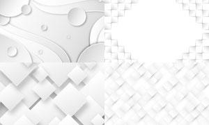 几何图形抽象背景创意矢量素材集V56