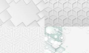 几何图形抽象背景创意矢量素材集V58
