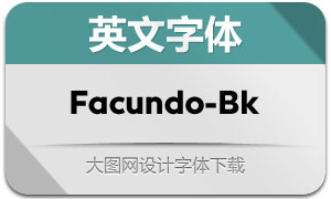Facundo-Black(英文字体)