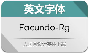 Facundo-Regular(英文字体)