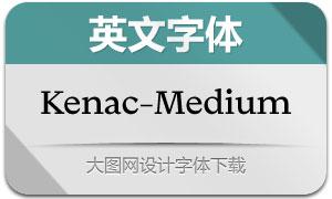 Kenac-Medium(Ó¢ÎÄ×Öów)