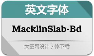 MacklinSlab-Bold(英文字体)