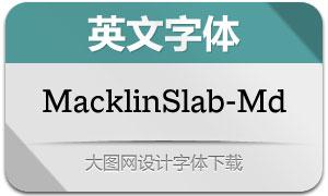MacklinSlab-Medium(英文字体)