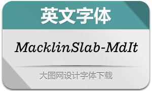 MacklinSlab-MediumIt(英文字体)