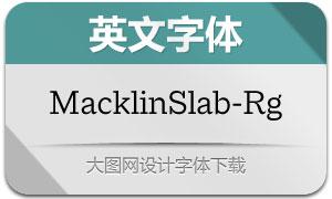 MacklinSlab-Regular(英文字体)