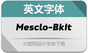 Mesclo-BlackItalic(с╒ндвжСw)