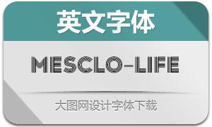Mesclo-Lifeline(英文字体)