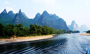 桂林漓江山水美景高清摄影图片