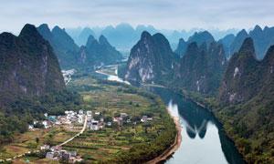 桂林漓江山水景观高清摄影图片