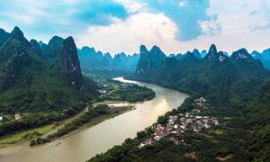 桂林漓江山水美景摄影图片