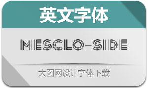 Mesclo-Sideline(英文字体)
