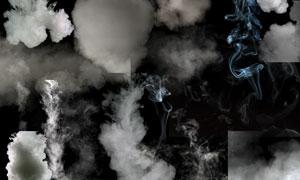 缭绕效果烟雾元素装饰适用分层素材