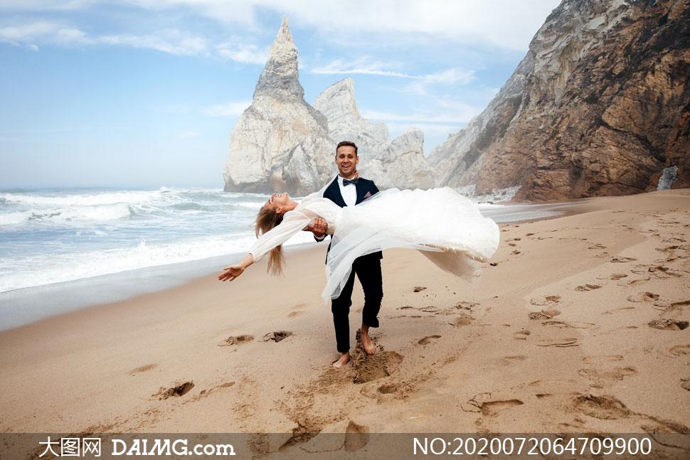 海滩婚纱照视频_海滩婚纱照