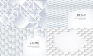 几何图形抽象背景创意矢量素材集V81